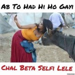 Chal Beta Selfi Lele – Funny Girls Selfie Photo