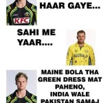 Funny Thought of Australian Player After Loosing Match By India