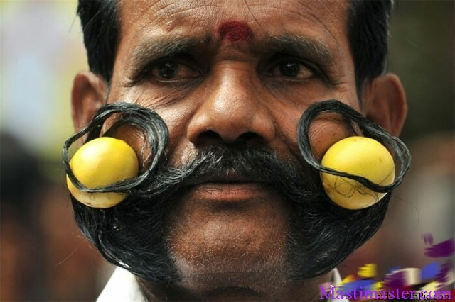 Funny Mustache Images Of Indian People Masti Master