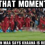 That Moment, When Maa Says – IPL fun: Funny pictures