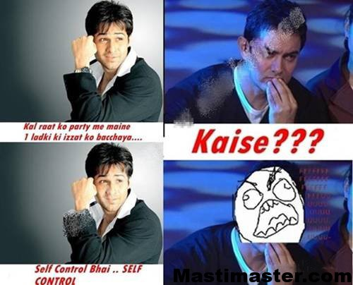 Aamir Khan Funny Photo - Bollywood funny images
