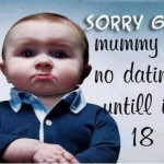 Funny Baby Pic for Facebook