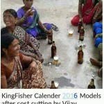 Kingfisher Calendar 2016 Models Funny Picture