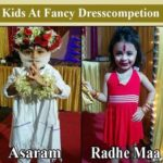 Indian Baby Funny Photo – Best Fancy Dress Costumes Winner Junior Asaram And Radhe Maa