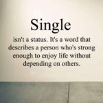 Being Single Quotes for WhatsApp
