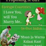 Proposing A Girl – Whatsapp Funny Picture