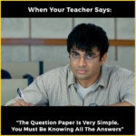 Student Exam Funny Image for WhatsApp Group