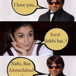 I Love You – Alia Bhatt Funny Pic