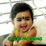 Good Morning Wishes With Baby