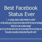 Top 10 Status for Facebook