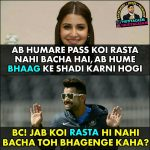 Virat & Anushka Funny Photo