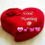 Good Morning Heart Photo for WhatsApp