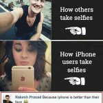 How Other take Selfies