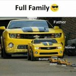 Full Family – Funny Photo for WhatsApp