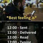 Best Feeling is – Latest Pic for Social Media