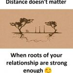 Distance does't matter – Relationship Pic for Couples