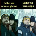 Virat and Anushaka Pic – Funny Selfie Photo