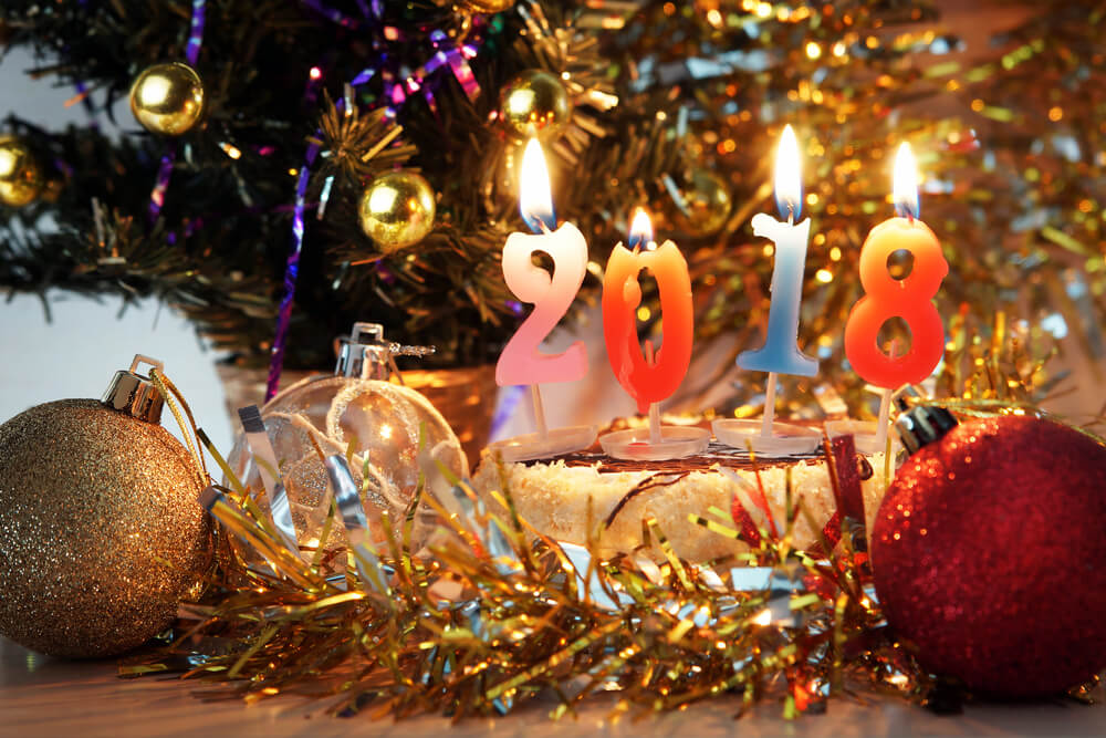 Happy New Year 2018 Wallpapers For WhatsApp Image Download