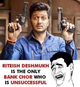 Riteish Deshmukh Funny Photo