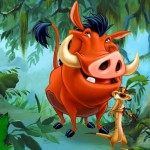 Funny Cartoon Photo – Timon and Pumba Funny Pictures
