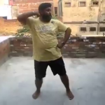 Funny indian men dancing on Bebo style, Very Funny Dance