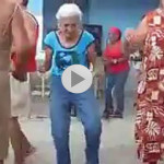 Funny Dance Videos of Old lady on Baby Doll Song