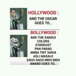 Difference Between Hollywood and Bollywood | Funny Pics for Facebook