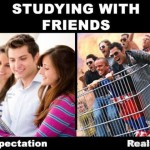 Studing With Frends, Expectation & Reality