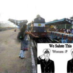 We Salute this Woman – Indian Girl Funny Photo