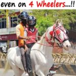 Indain People Funny Pic – I Wear Helmet Even On 4 Wheelers