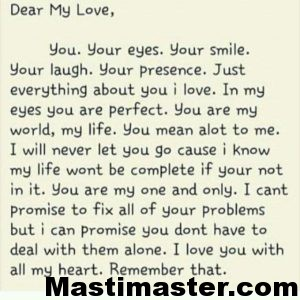 sweet love letters for her letter for masti master 13508 | FB IMG 1465985993591 300x300