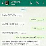 WhatsApp Funny Pic for Girlfriend