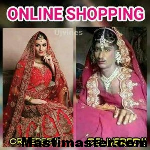 Online Shopping Funny Photo