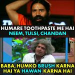 Baba Ram Dev Funny Photo