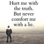 Hurt me with – English Sad Quote Photo