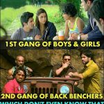 Every Class has 2 Gangs – Funny Photo for Students