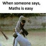Math is Easy – Funny Photo for WhatsApp