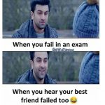 When you fail in an Exam – Funny Exam Pic