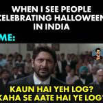 When I see People – Funny Photo for Halloween