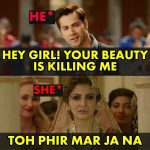 Bollywood Funny Meme Pic