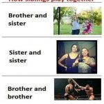 How Siblings Play Together – Funny Photo