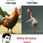 Marriage After Before Funny Pic