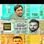 New Indian Currency Note – Indian Cricketer Funny Photo