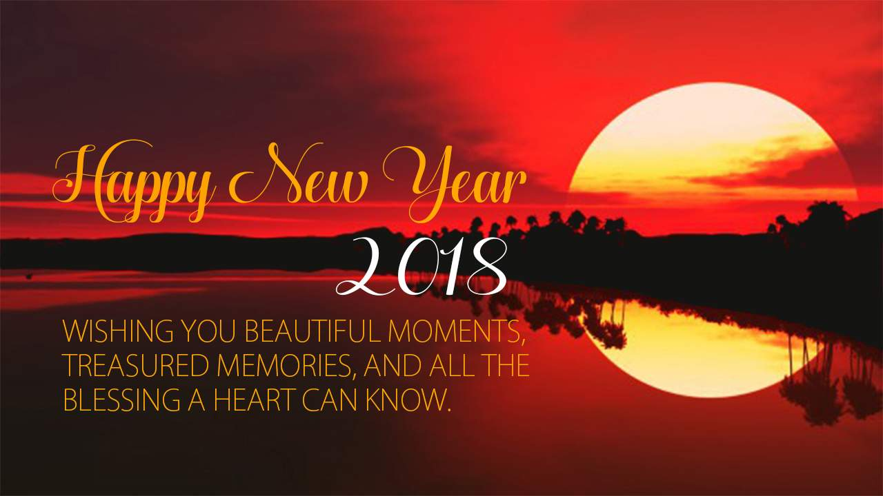 heppy new year 2018 wallpaper for desktop
