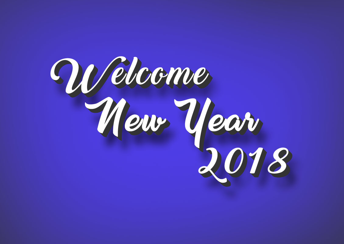 welcome happy new year 2018 wishes