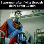 Super Man Funny Photo