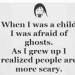 When I was a Child – English Quote Photo