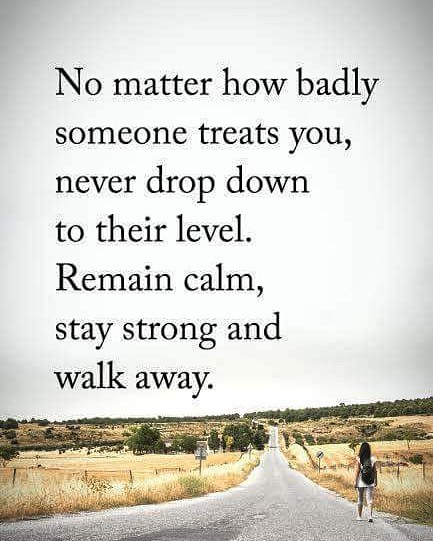 No Matter how Badly someone treats you – English Qoute Photo