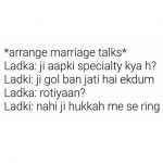 Arrange Marriage Funny Talks