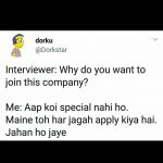 Job & Interview – Funny Photo for Facebook